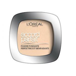 L'Oréal Accord Parfait - Poudre fondante et matifiante 5.D Sable Doré