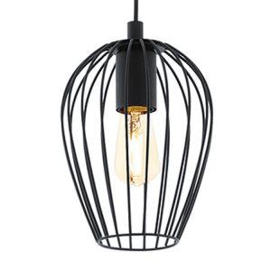 Eglo Lampe suspendue NEWTOWN Noir, 1 lumière - Moderne - Intérieur - NEWTOWN