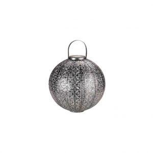 Smart Garden Lanterne solaire Jumbo Damasque argent à LED blanc Ø 30 H 32 cm