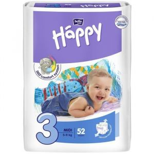 Bella Baby Happy 52 couches taille 3 (5-9 kg)