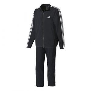 Adidas TS WV - Survêtement - Homme - Noir (Blanc) - Taille: 192