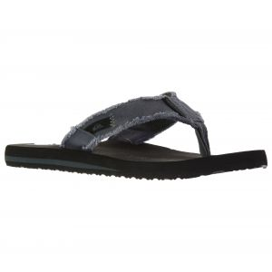 Quiksilver Monkey Abyss M Sndl Xskc, Tongs homme, Gris (Insole: BLACK / Upper: Grey), 42