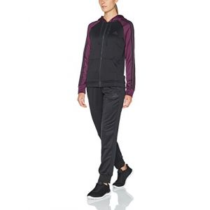 Adidas Survetement re-Focus TS, Femme M Noir/Rouge