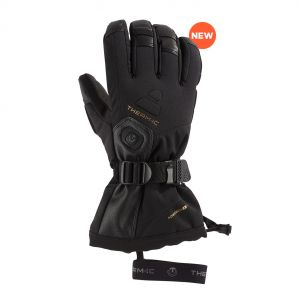 Sidas Therm ic Thermic Ultra Heat Gloves Men Black Gants de ski Homme