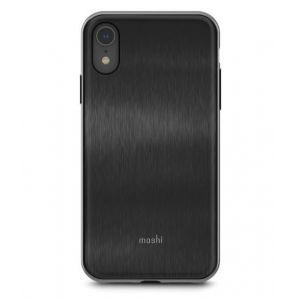 Moshi IGlaze Noir - Coque de protection pour iPhone XR
