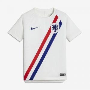 Nike Haut de football Netherlands Dri-FIT Squad pour Enfant plus âgé - Blanc - Taille S