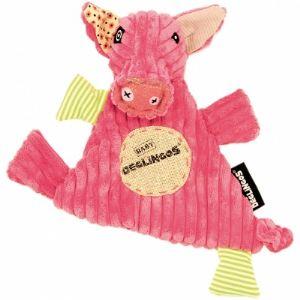 Les Déglingos Doudou Baby Jambonos le cochon 27 cm
