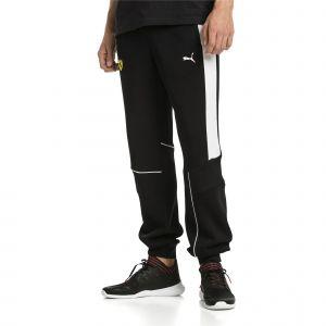 Puma Pantalon en sweat en maille Ferrari pour Homme, Noir, Taille S
