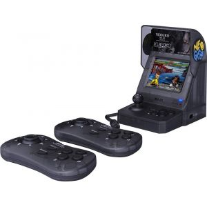Just for Games Console rétro SNK NeoGeo Mini Samurai Showdown Noire