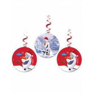 3 suspensions Olaf Christmas