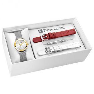 Pierre Lannier 363F628 - Coffret montre pour femme avec bracelets interchangeables Classic