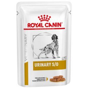 Royal Canin Urinary S/O Sachet pour chien – 100 g 12 sachets