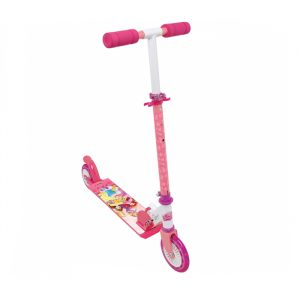 Smoby Trottinette 2 roues pliable Disney Princesses