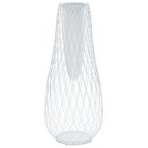 Jardinière Heaven - Pot de fleurs blanc/H163cm