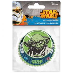 60 caissettes cupcakes Star Wars 6.5 cm