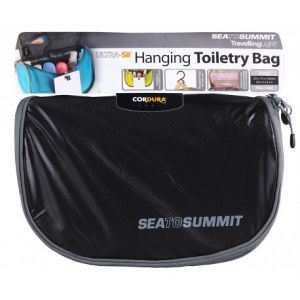 Sea to Summit Light Hanging Toiletry Bag S black/grey