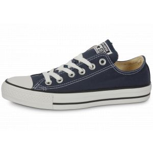 Converse Chaussures casual unisexes Chuck Taylor All Star Basses Toile Bleu marine - Taille 40