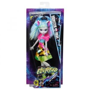 Mattel Poupée Monster High Coiffure électrisante Silvi Timberwolf