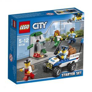 Lego 60136 - City : Ensemble de démarrage de la police