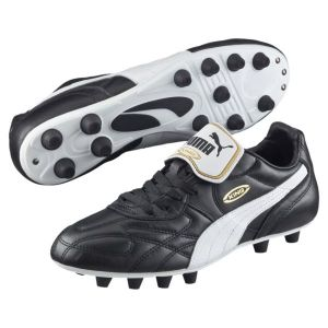 new product 55ece 5a5d9 Puma King Top Ifg - Chaussures de Football - Homme - Noir (Black-white