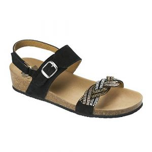Scholl Chaussures Evelyne Sandal Taille 41 Noir