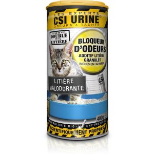 CSI Urine Additif Granulés Anti-Odeurs Pour Litière - 400g