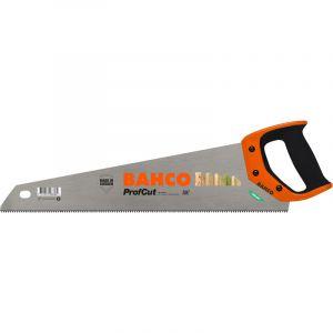 Bahco Scie à main avec poignée à 2 composants, longueur de lame : 475 mm, Dents par pouce 7 -