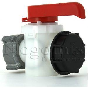 Negomix Vanne de rechange S60x6 pour cuve 1000 litres
