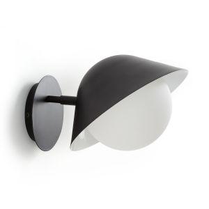 Applique métal et opaline CALIMEO Noir Taille Taille Unique