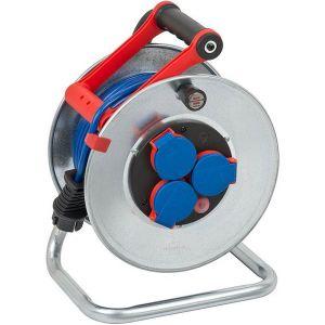Brennenstuhl Enrouleur de câble Garant S IP44 25m AT-N05V3V3-F 3G1,5 bleu