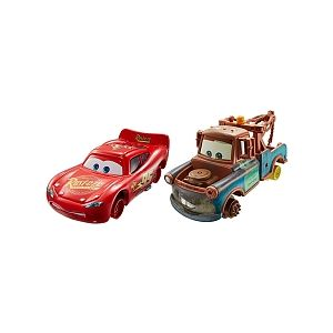 Mattel Coffret 2 voitures Cars 2 Martin + Flash McQueen (DHL20)
