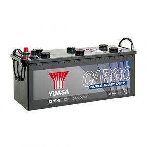 Yuasa Cargo Super Heavy Duty Batterie pour Cargaison 12V 143Ah 900A 627SHD 12V 143Ah 900A Cargo Super Heavy Duty Battery 513 x 189 x 223 mm