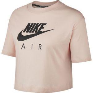 Nike Hautà manches courtes Air pour Femme - Rose - Taille L - Female