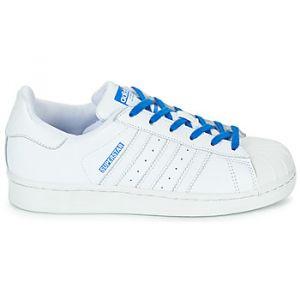 Adidas Chaussures enfant SUPERSTAR J blanc - Taille 36,38,36 2/3,37 1/3,38 2/3