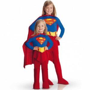 Rubie's Déguisement Supergirl combinaison fille (8-10 ans)