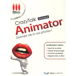 CrazyTalk : Animator pour Windows