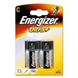 Energizer 2 piles alcalines C LR14 Ultra+