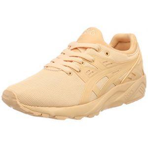 Asics Gel-Kayano Trainer Evo GS, Chaussures de Running Mixte Enfant, Orange (Apricot Iceapricot Ice 9595), 37.5 EU