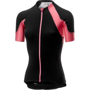 Castelli Scheggia 2 Maillot de cyclisme Femme, black/pink M Maillots route