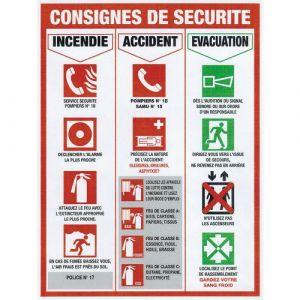 Qofipro PANNEAU CONSIGNE SECURITE - NOVAP