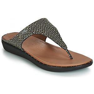 FitFlop Sandales BANDA II DOTTED-SNAKE Noir - Taille 36,37,38,39,40,41,42