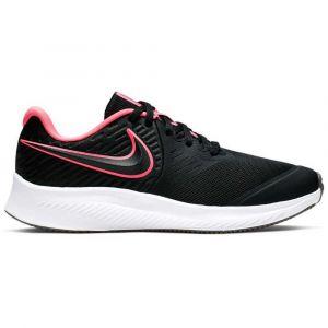 Nike Chaussures running Star Runner 2 Gs - Black / Sunset Pulse / Black / White - Taille EU 37 1/2