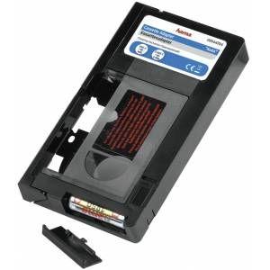 Hama 44704 - Cassette adaptatrice VHS-C/VHS motorisée