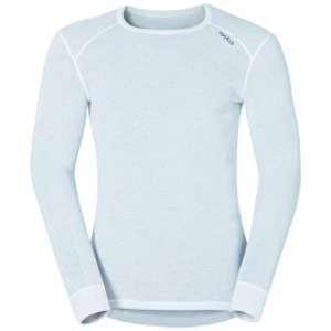 Odlo Shirt ML ACTIVE WARM Originals T-shirt manches longues homme Homme white FR: S (Taille Fabricant: S)