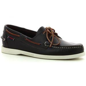 Sebago DOCKSIDES FGL, Chaussures Bateau Homme - Noir (Wine/Brown), 43.5 EU