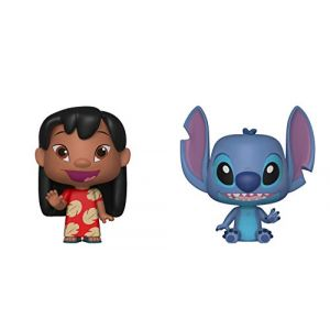 "Funko VYNL 4"" 2-Pack Lilo & Stitch Collectible Figure, 33373, Multcolour"