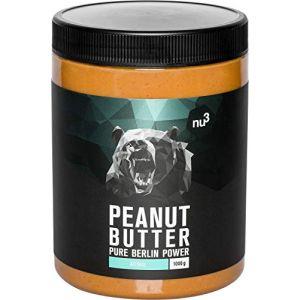 Nu3 Beurre de cacahuète naturel onctueux