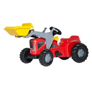 Rolly Toys Tracteur à pédales Rolly Kiddy Futura avec chargeur