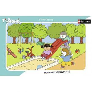 Nathan Cadre 15 pièces T'choupi au Parc, Puzzle, Casse Tete, Enfants, Garcon, Jeu,Jouet Fille 3 Ans,t'choupi, 4005556861323, Néant