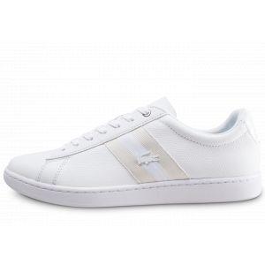 Lacoste Basket mode sneakerbasket mode sneakers carnaby evo blanc blanc 40